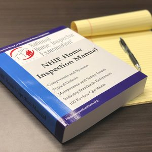 NHIE Home Inspection Manual used in SGA Inspection Inc. Classes