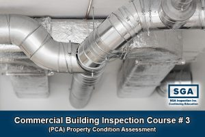 SGA commercial building inspection course PCA property condition assessment