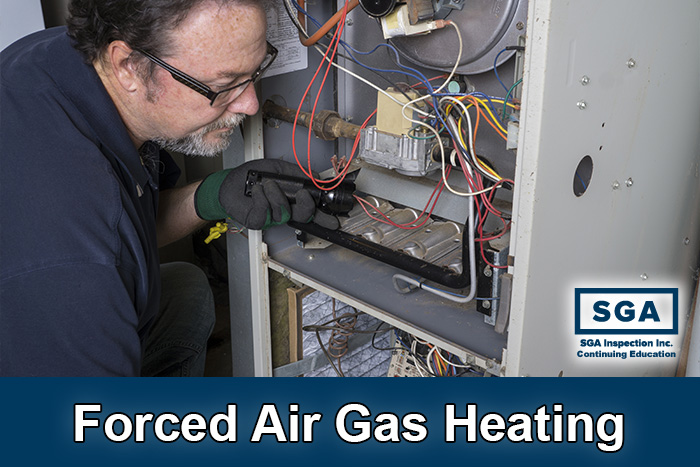 SGA forced air gas heating inspection