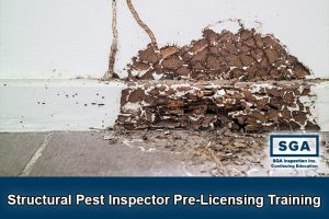 SGA structural pest inspector pre-licensing training