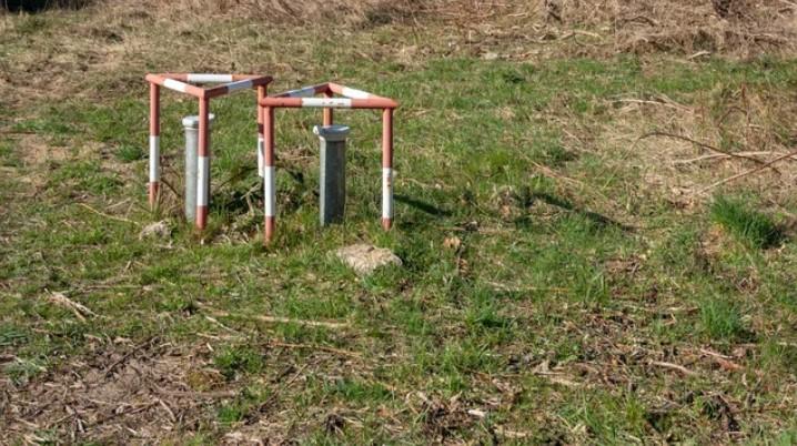 ground water sampling device
